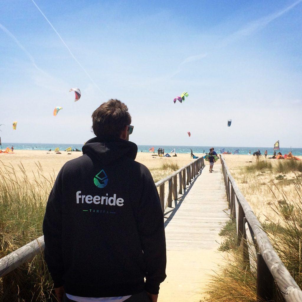 Freeride Tarifa on Los Lances Beach, Tarifa - spain