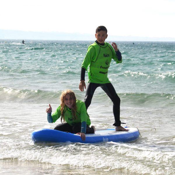 Stand Up Paddle Board In Tarifa Spain, Freeride Tarifa Kitesurf School
