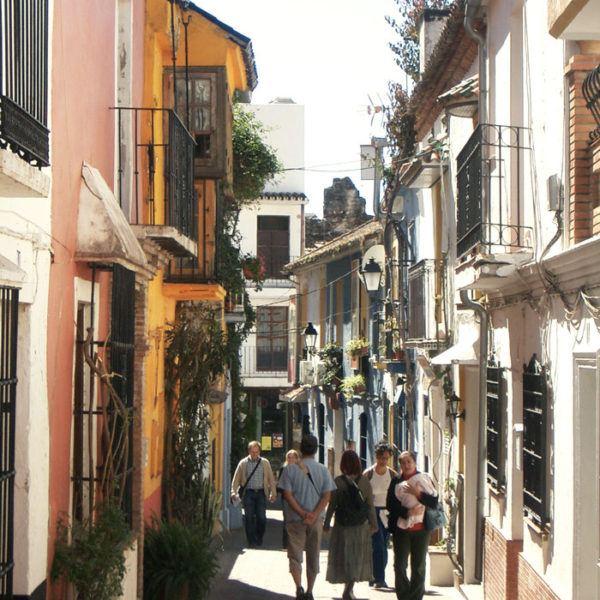 Norrow street of Tarifa village