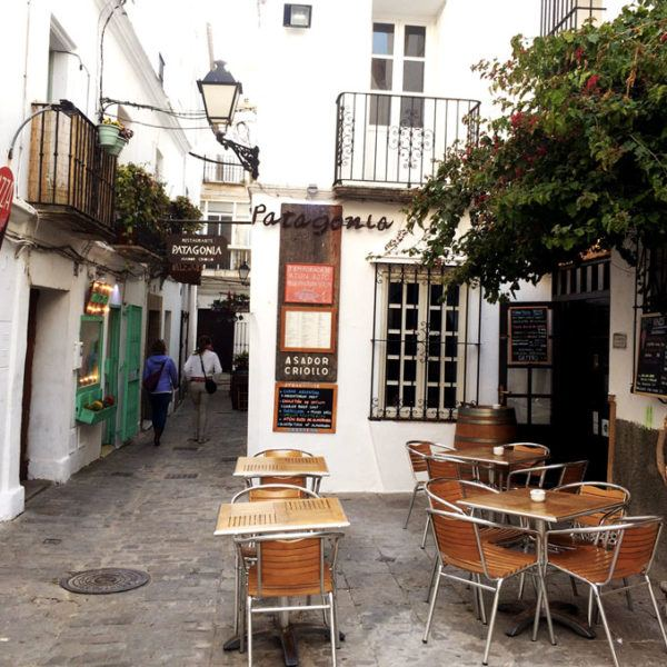 Restaurant terrace of Tarifa