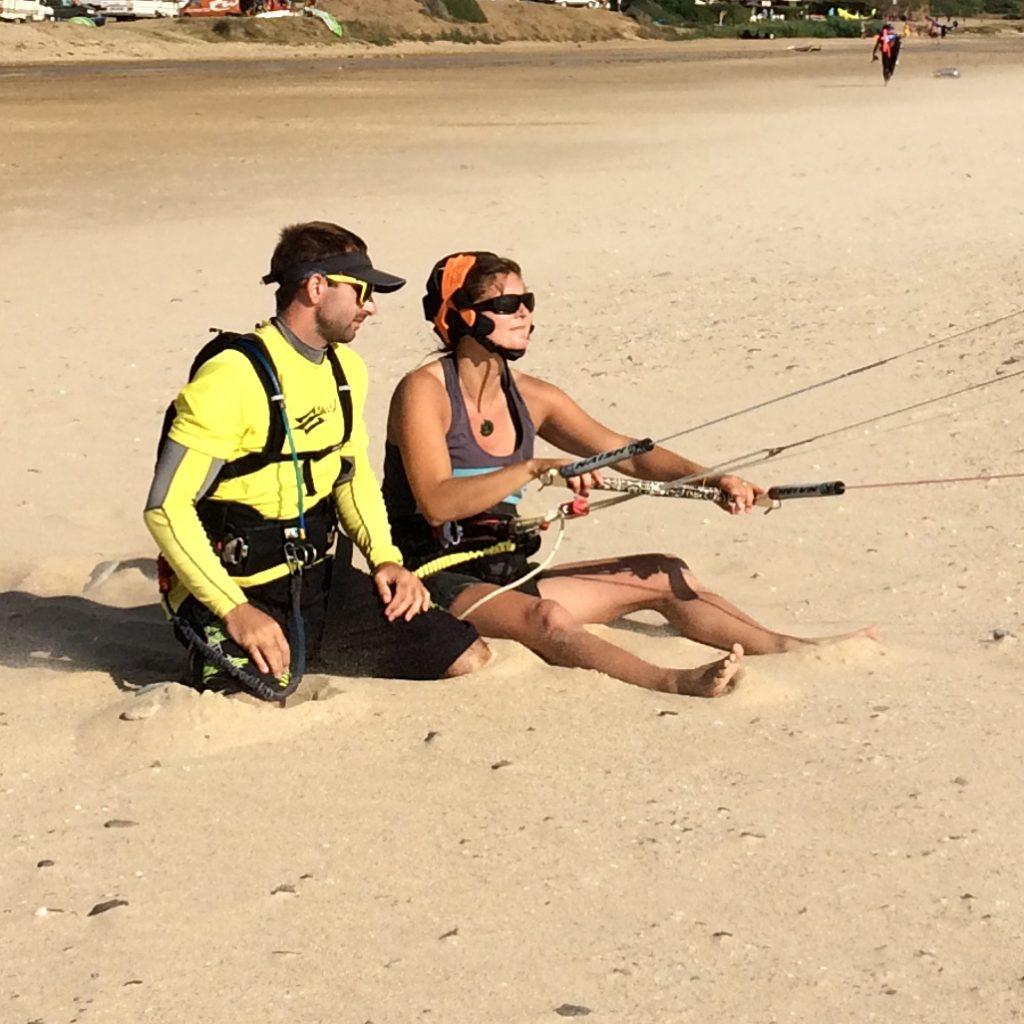 Testimonial, Roxan.P, Kitesurfing lessons with Freeride Tarifa, kite control, kite boarding