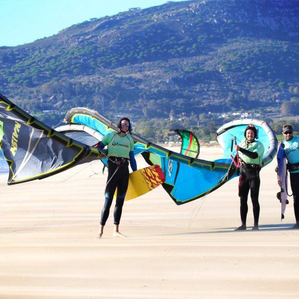 Ride and Stay in Tarifa. Kitesurf school Freeride Tarifa, spain.