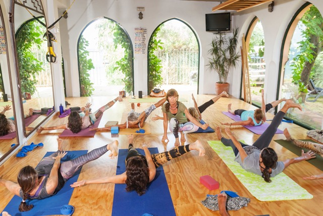 Wellbeing camp in Tarifa, Yoga, Pilates and Stretching