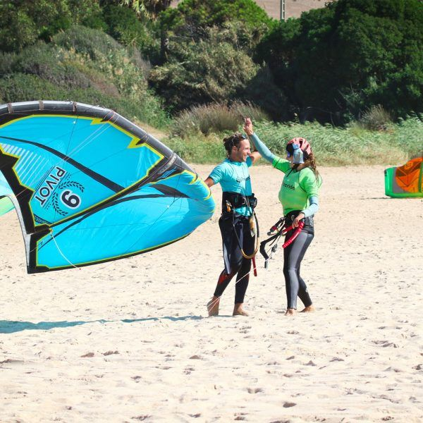 Kite instructor encouragement