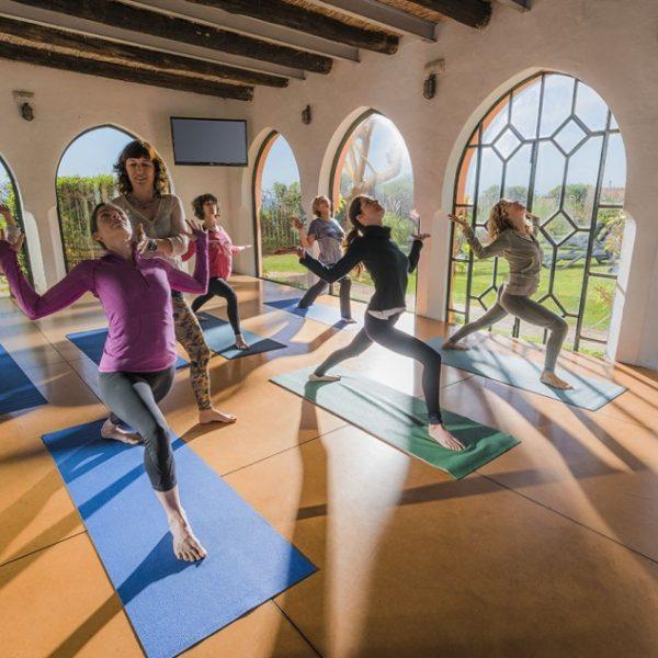 Yoga Class, Wellbeing Day Trip with Freeride Tarifa