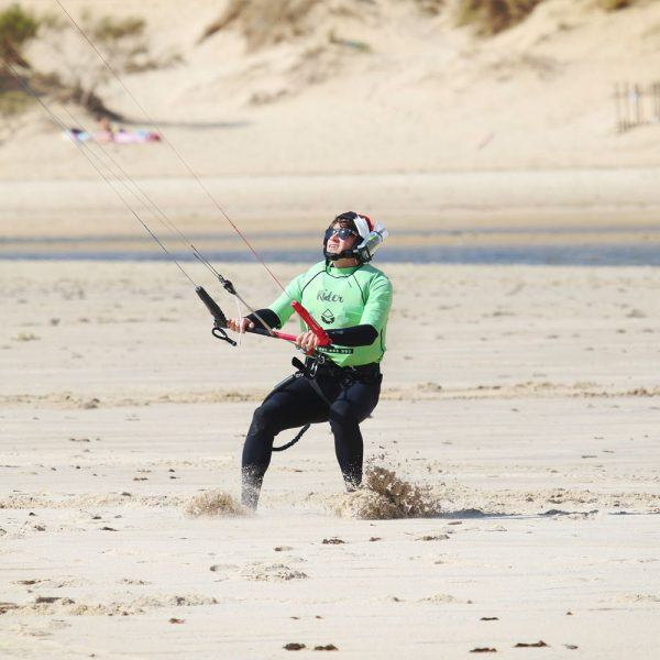 Kite camp in Tarifa. Beginner classes with Freeride Tarifa.