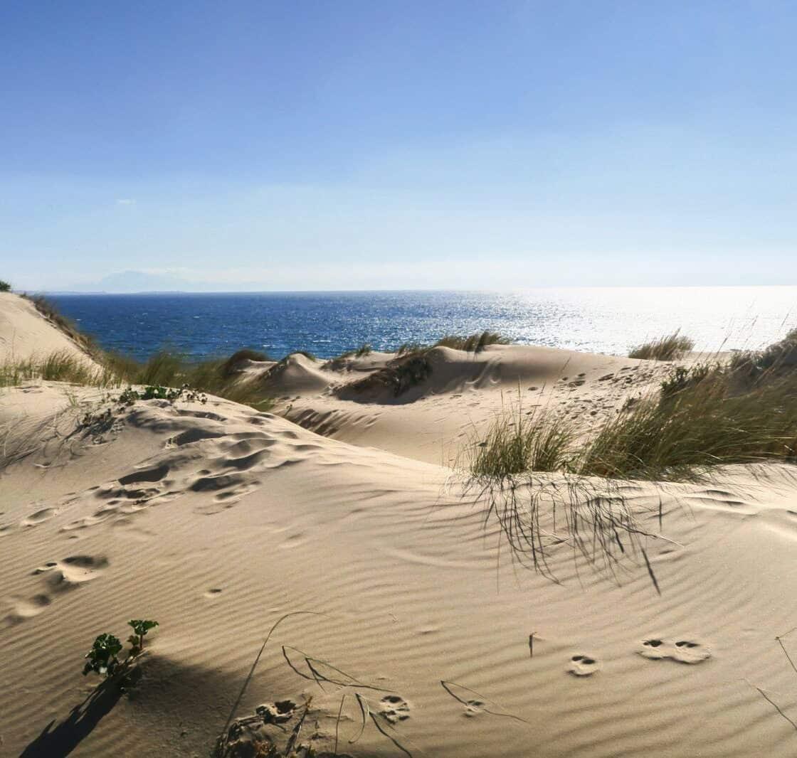 ballade sur la plage, Tarifa