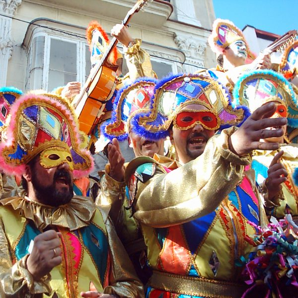 Cadiz Carnival, famous and international event in Spain, déguisements