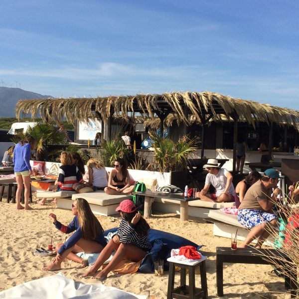 "Chiringuito ""the waves"", Los Lances beach, Tarifa"