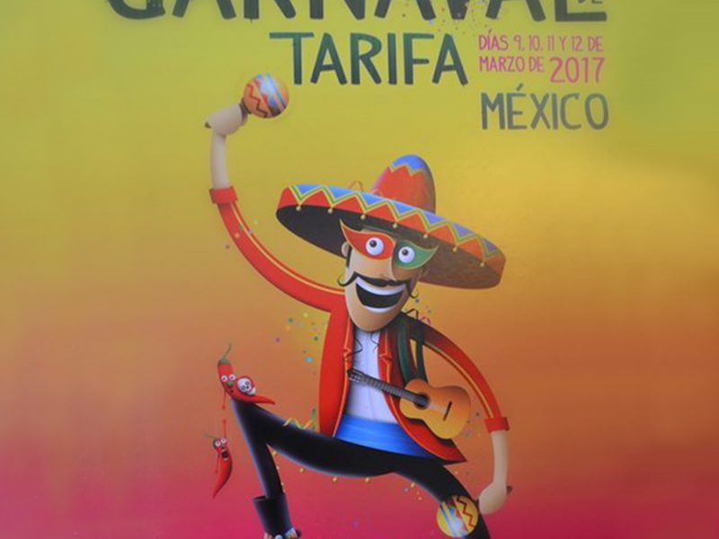 Tarifa carnival 2017, Mexico's theme