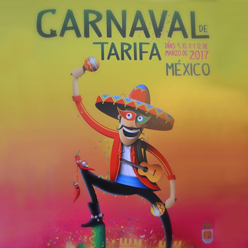 Tarifa carnival 2017, Mexico's theme, spring event