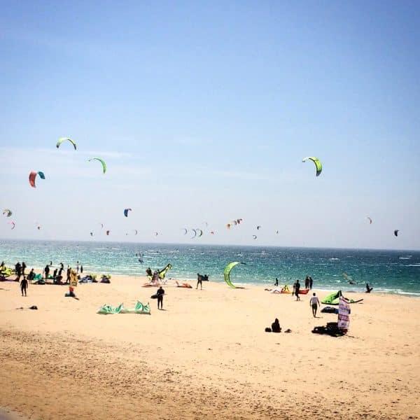 Freeride Tarifa on Valdevaqueros Beach, Tarifa - Spain