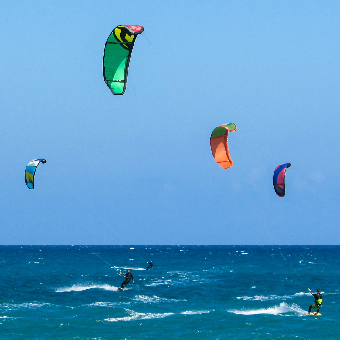 World strapless competion, Tarifa, kitesurfing