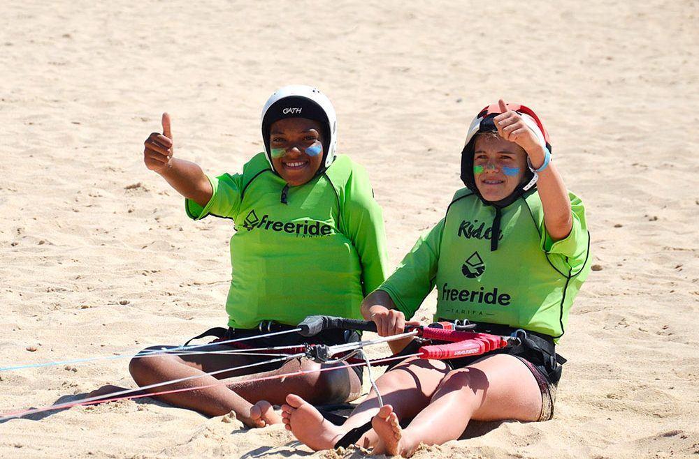 Kitesurfing lessons in Valdevaqueros beach, Beginner and advanced level In tarifa.