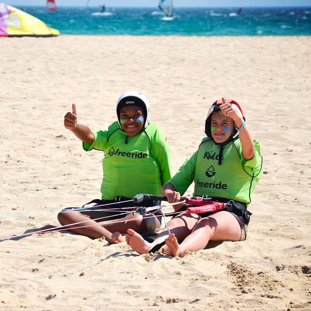 Kitesurfing lessons in Valdevaqueros beach, Beginner and advanced level In tarifa.