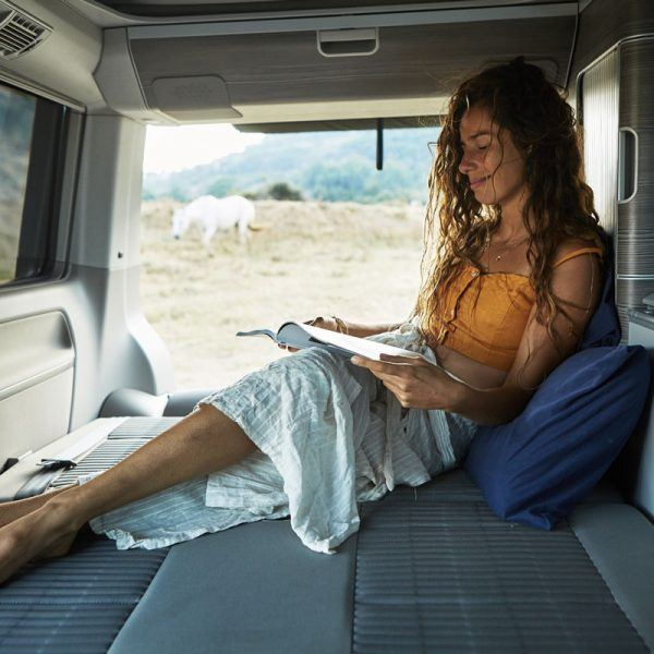 leisure and freedom, road trip, capervan, california T6