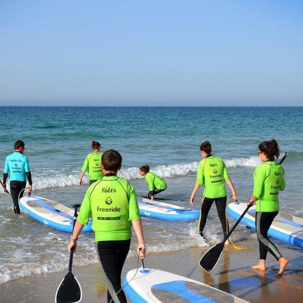 Stand Up Paddle Board, watersport in valdevaqueros beach, Freeride Tarifa school in spain