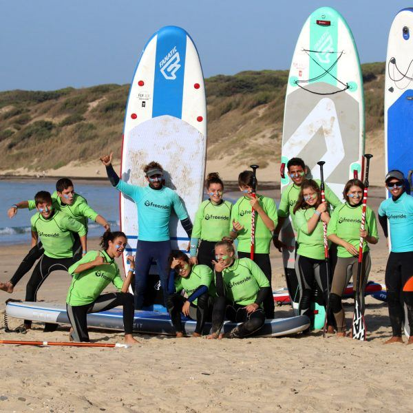 Stand Up Paddle Board, summer camp in spain, Tarifa, with Freeride Tarifa