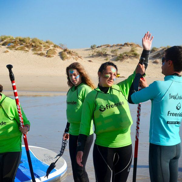 classe de stand up paddle