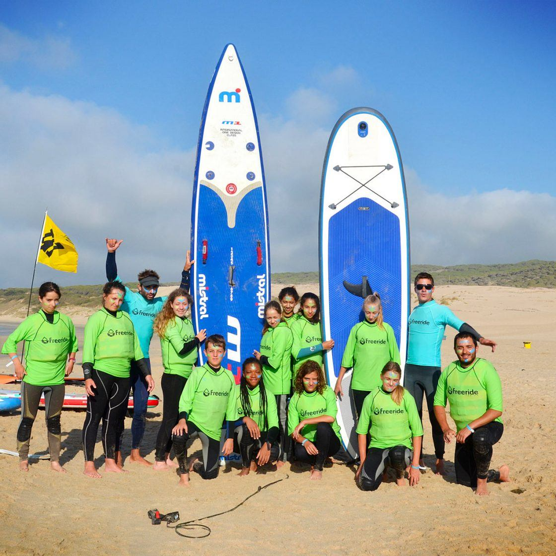 groupe stand up paddle, classe nautique