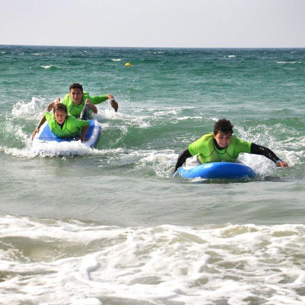apprentissage du paddle, école de kitesurf