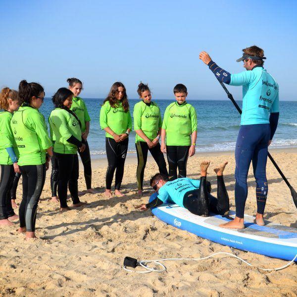 Stand Up Paddle Board, watersport sport activity, Freeride Tarifa school in spain