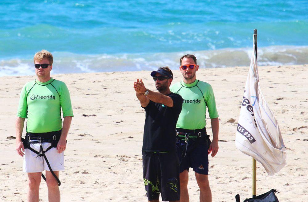Kitesurf for beginners, watersports school specialised in kitesurfing, Freeride Tarifa in spain