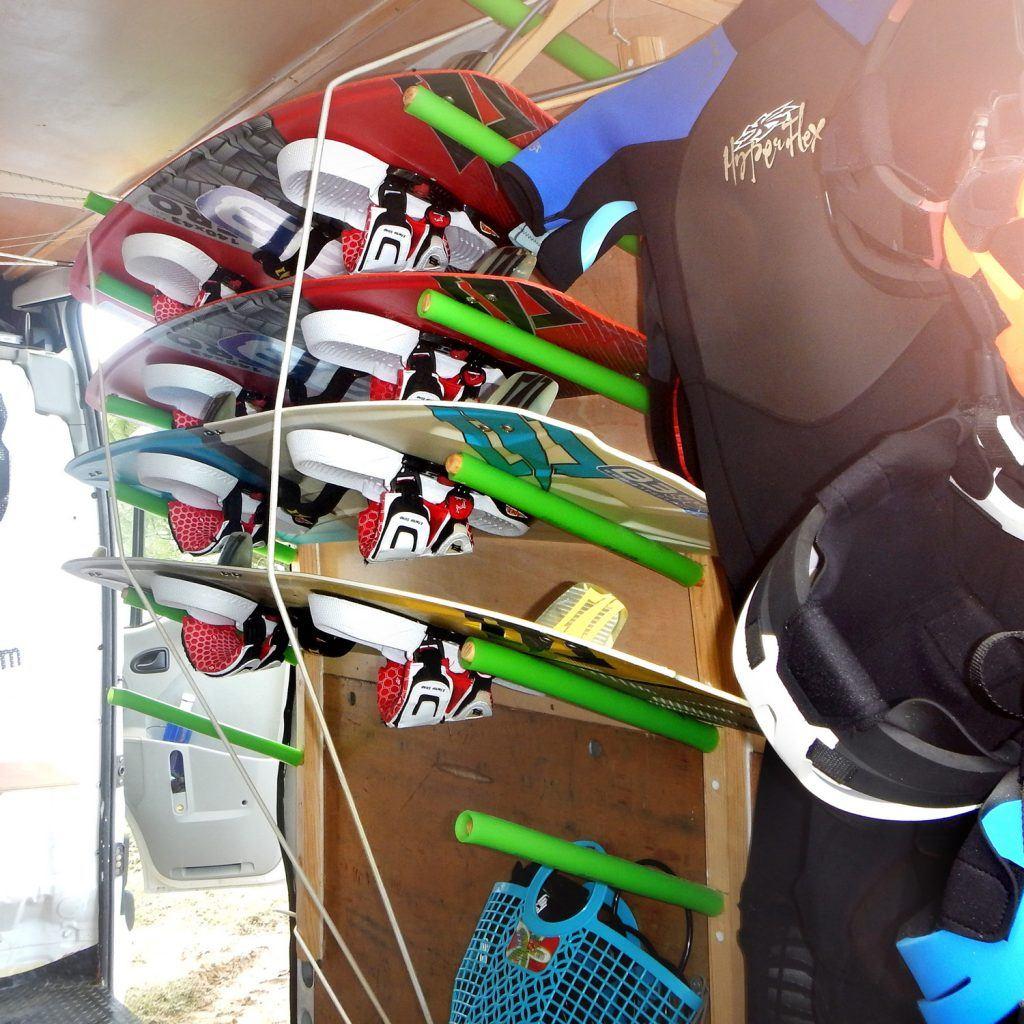 kitesurf gear, Board, kite... Freeride Tarifa, Watersports School
