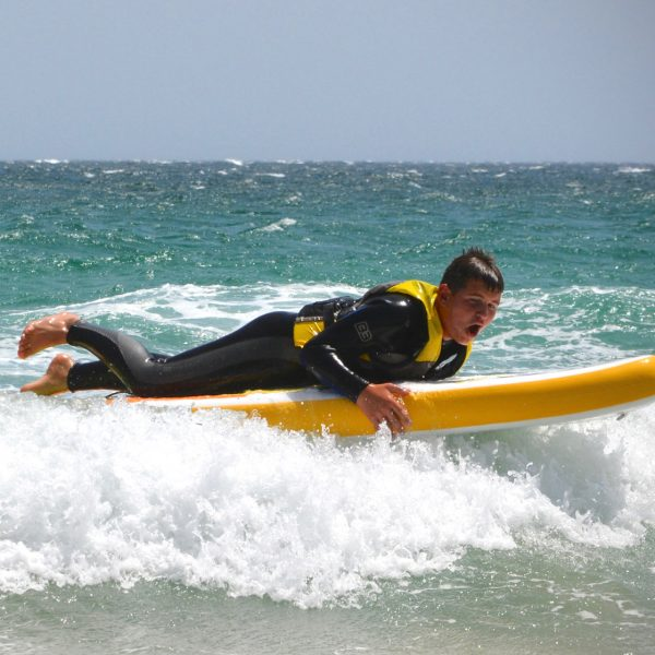 Stand Up Paddle, beach sport activity, Freeride Tarifa school in spain