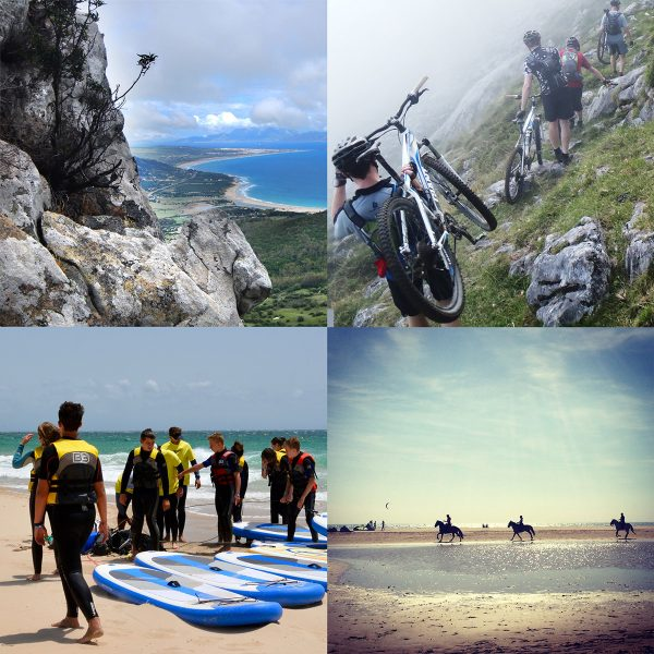 Multi-Activity Camp,Tarifa in Spain