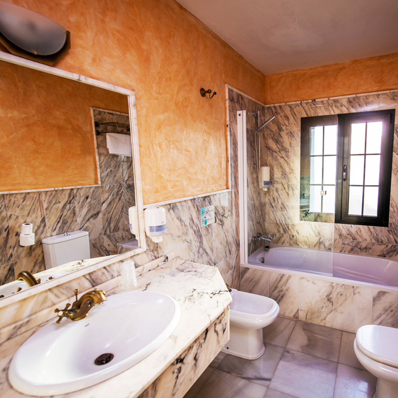 salle de bain, hôtel, Tarifa