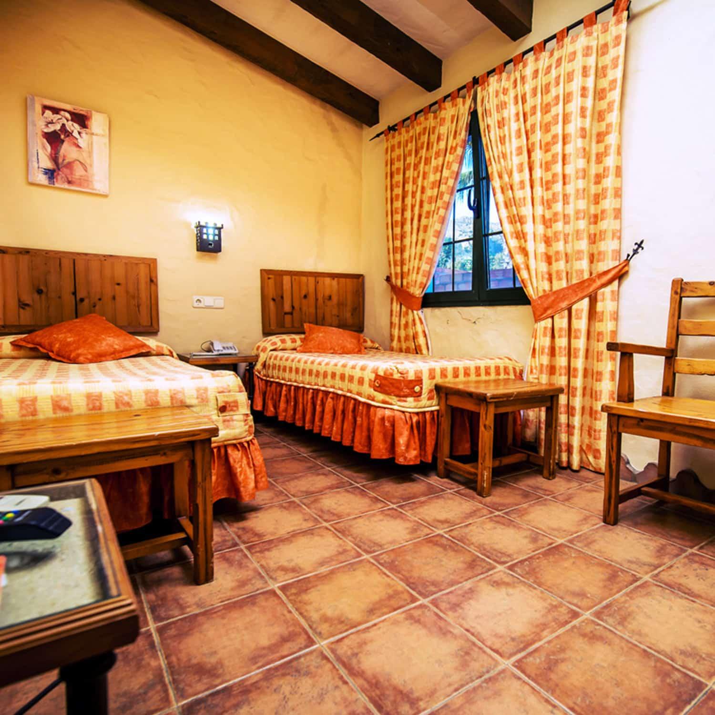 chambre, hôtel, Tarifa