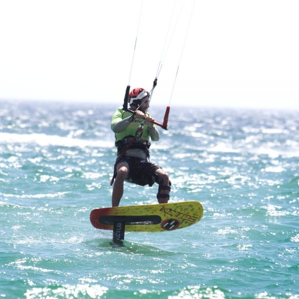 kitefoil training