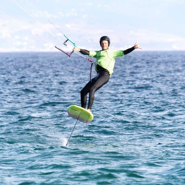 kitefoil jump