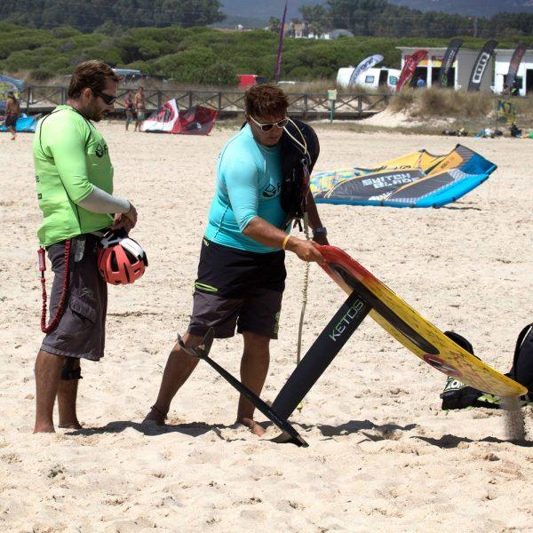 cours de kitefoil, Tarifa