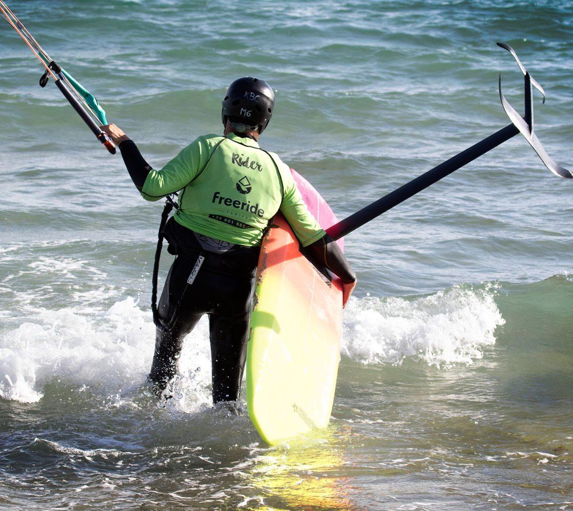 entrainement de kitefoil