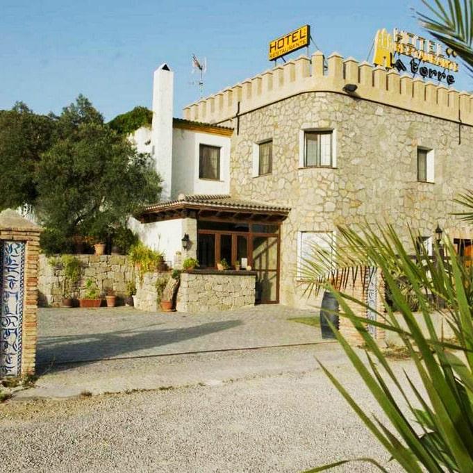 hôtel, style andalou, Tarifa