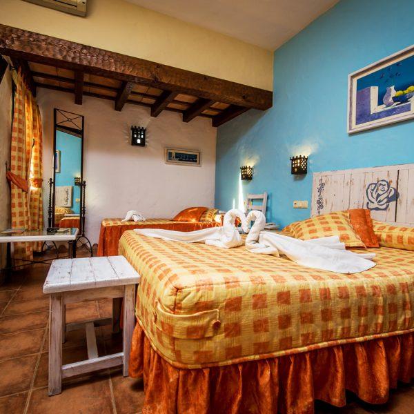 chambre, hôtel, vacances, Tarifa