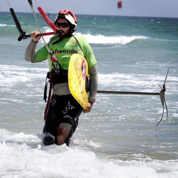 pratique du kitefoil, Ketos foil, Tarifa