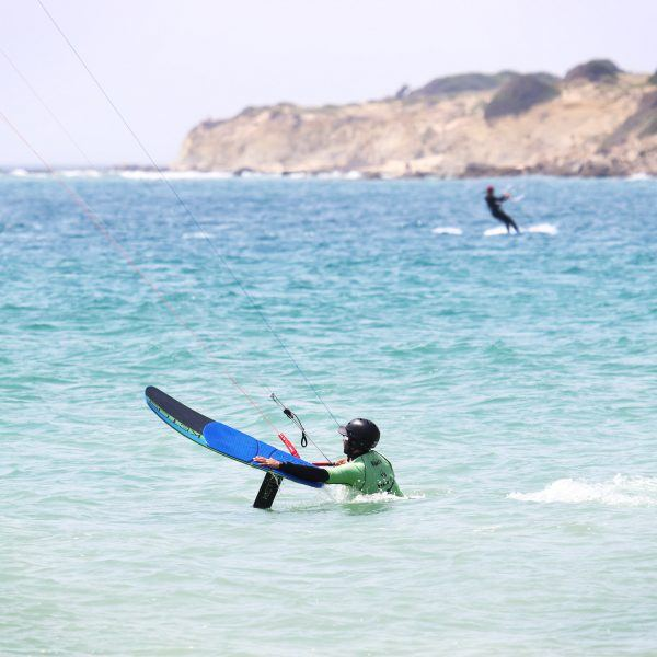 Kitefoil training, rental foil, ketos foil, Naish equipment, Tarifa