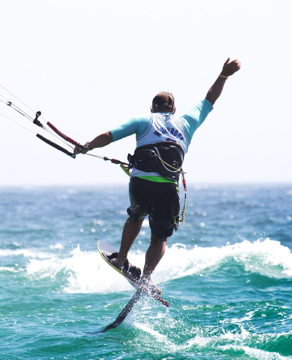 kitefoil session, sport d'eau