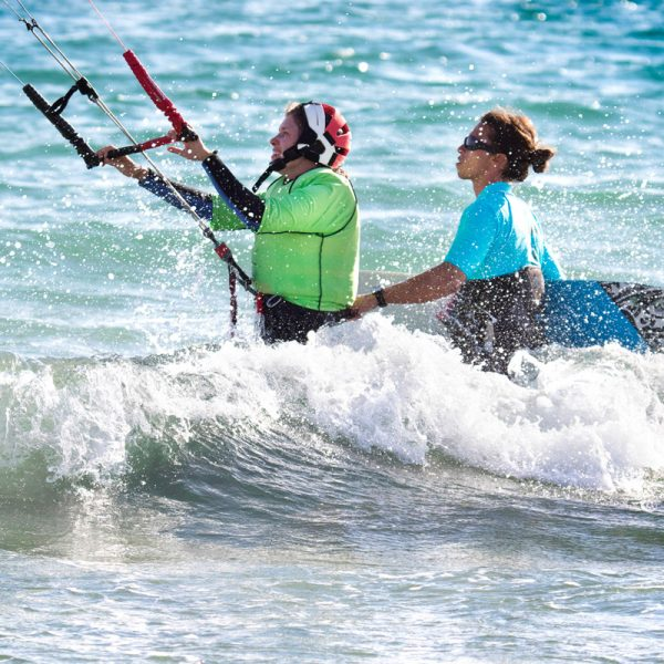 Kiteboarding school in spain. Freeride Tarifa. Courses for all level.