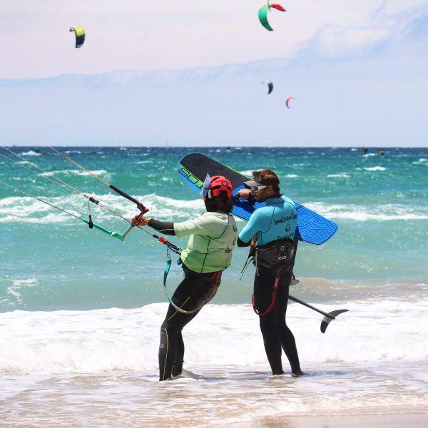 Apprennez le foil à Tarifa, location de foil en espagne, kitefoil training, Ketos foil, Naish foil