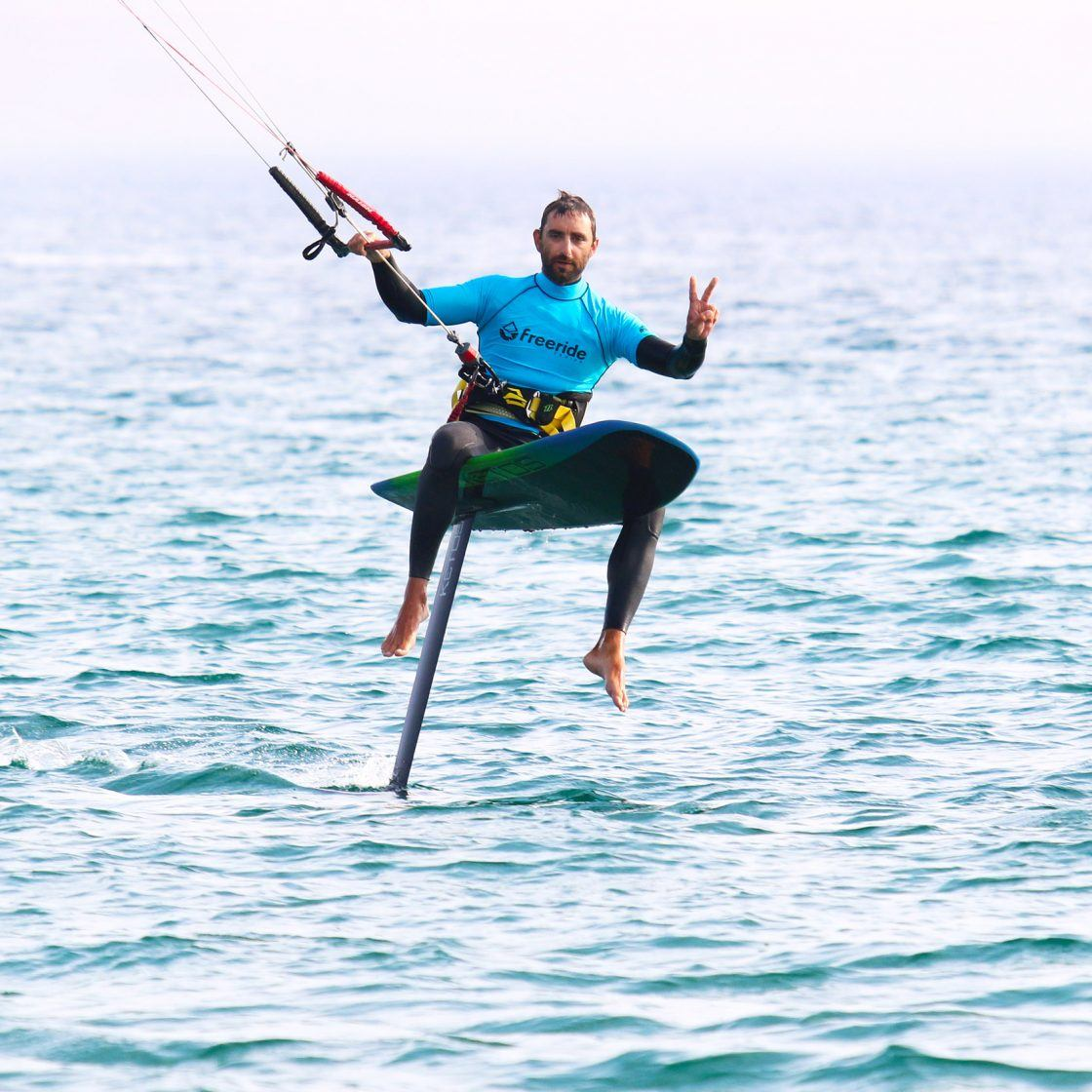 learn how to kitefoil Tarifa, rental foil spain, training foil, kitefoil courses