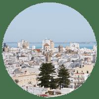 Cadiz, ville andalouse, Espagne