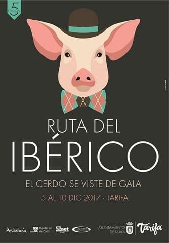 """""""Ruta del Ibérico"""" in Tarifa (Iberian Pork Route)"""