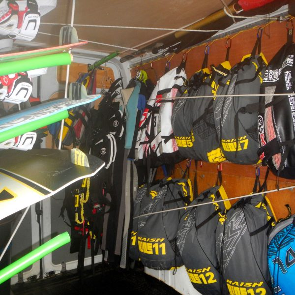 kitesurf gear, Board, kite Naish 2016... Freeride Tarifa, Kitesurf School