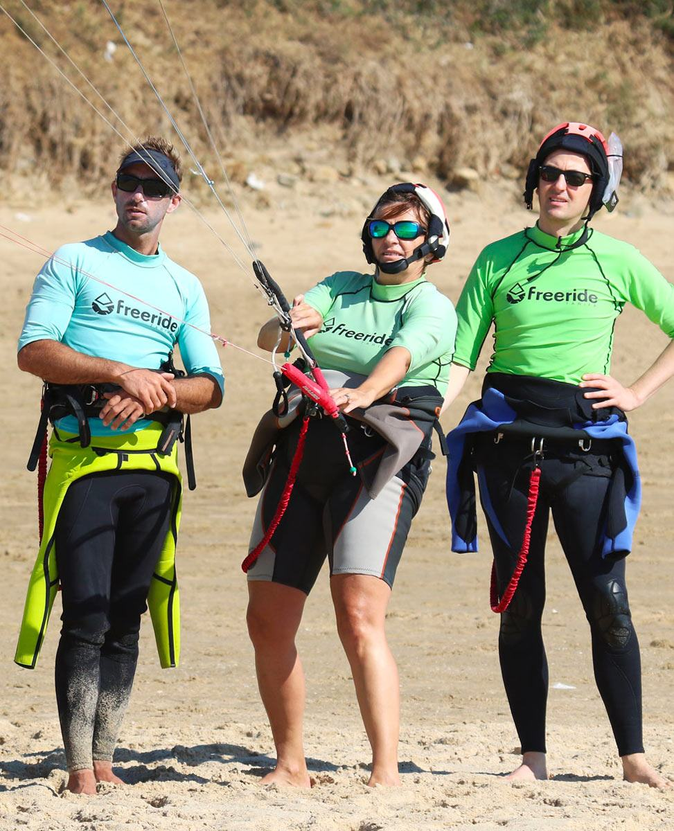Kiteboarding training. 1 week in Tarifa