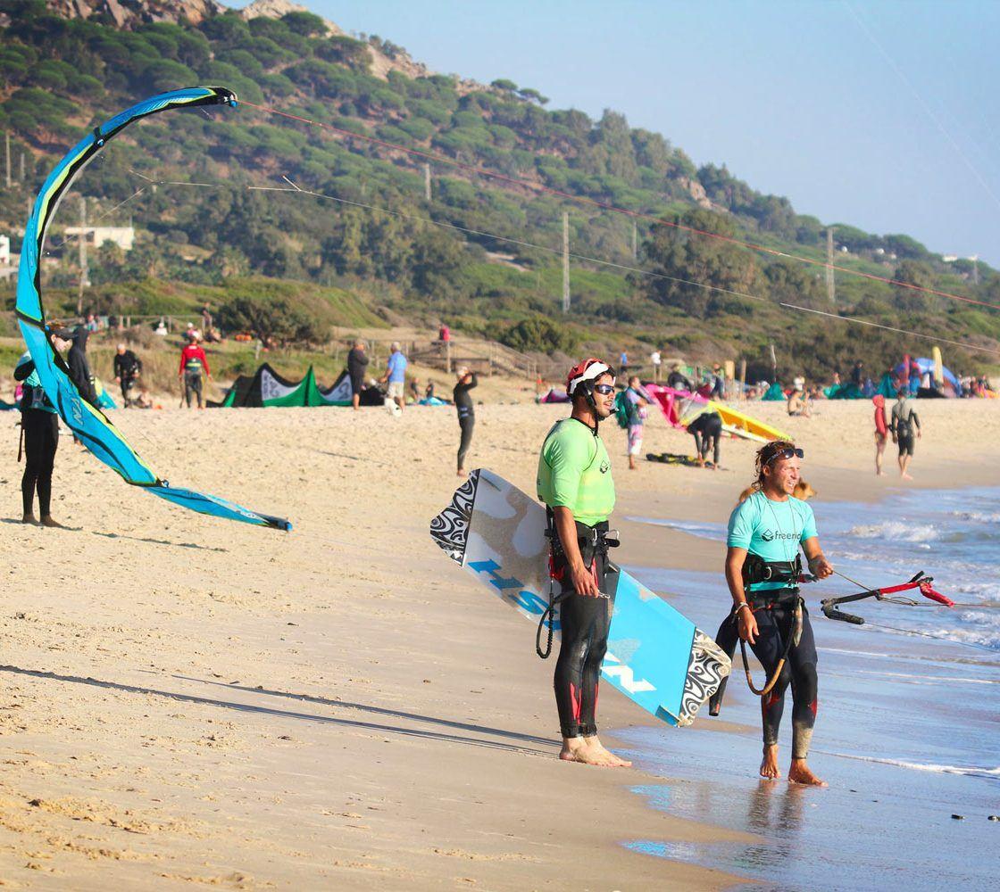 Private Kitesurf course in valdevaqueros beach tarifa spain