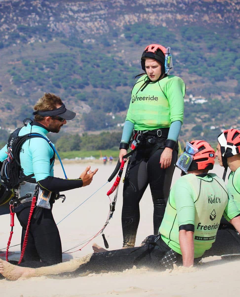 Kitesurf advice to progress faster in kitesurfing.